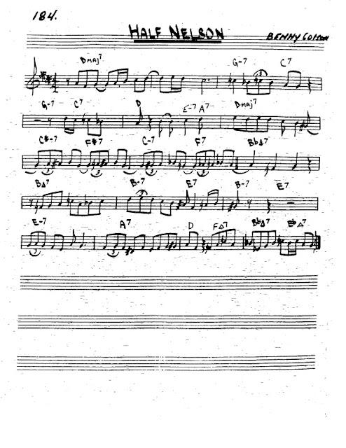 Partitura Trompeta Miles Davis