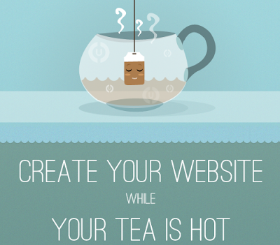 Create Your Website While Your Tea Is Hot
