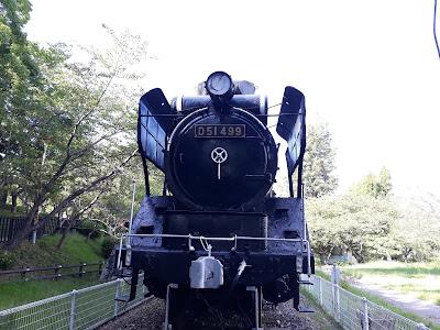 偕楽公園のD51