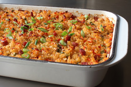 "Baked ""Fried"" Rice – Once Cooked"