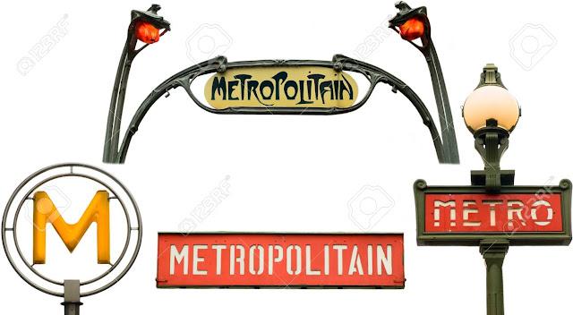 Símbolos do metrô de Paris