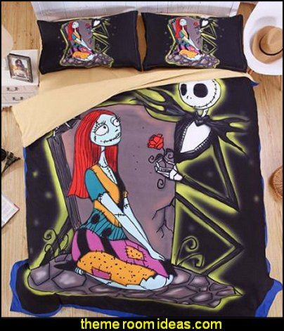 The Nightmare Before Christmas Duvet Covers  Nightmare Before Christmas bedroom decorating ideas - nightmare before christmas decor  - jack skellington decor - Nightmare Before Christmas Bedroom Decor -  Jack skellington Sally the nightmare before Christmas - Nightmare Before Christmas  bedding - Halloween - Tim Burton - Sally Nightmare Before Christmas bedroom