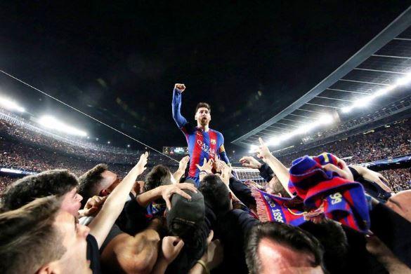Kontroversi di Laga Barcelona vs PSG