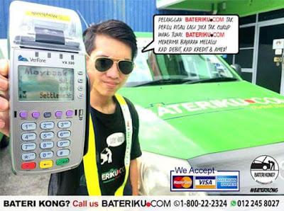 Penyelesaian Pantas Bateri Kereta Kong di Kajang Dengan Bateriku.com