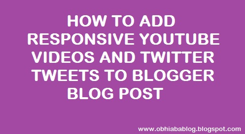 How To Add Responsive YouTube Video