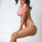 Andrea Rincon, Selena Spice Galeria 7 : Cachetero Blanco, Tanga Blanca, Top Bikini Rosado Foto 61