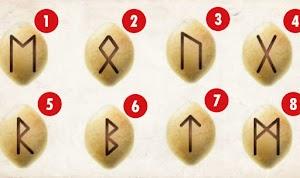 A runa que você escolher revelará o necessário para saber como avançar e atingir seus objetivos