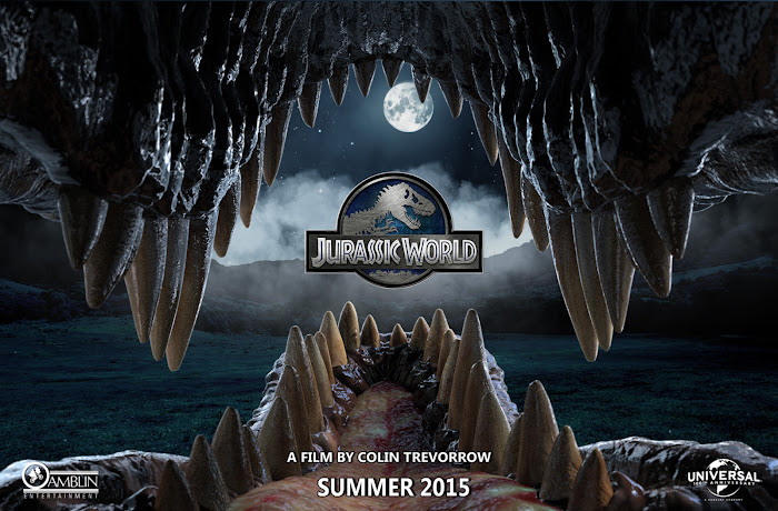 """Jurassic World"" banner, poster, trailer e mais"