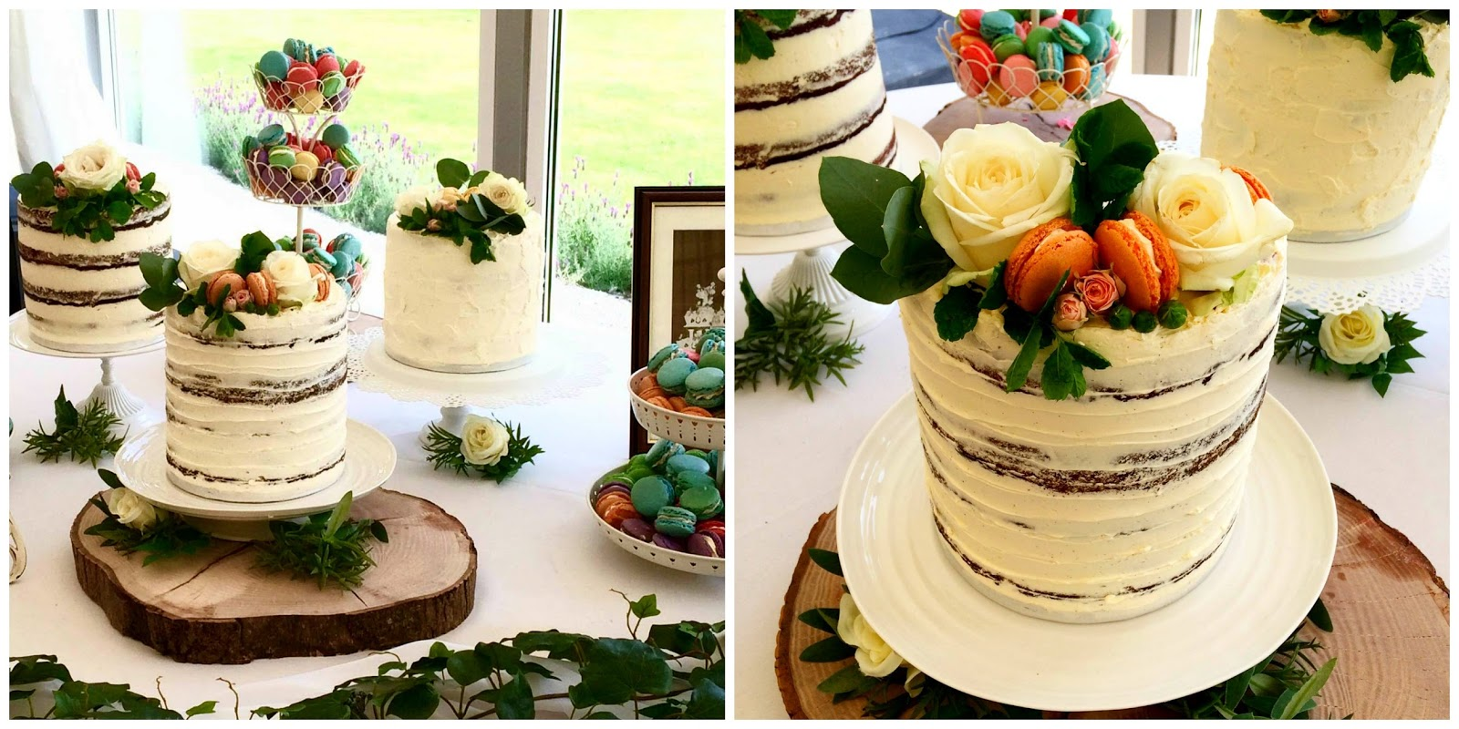 Two Of Our Very Good Friends Got Married And Trying To Fit Three Layer Cakes 350 Macaron A Great British Bake Off Post