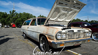1964 Chevy Chevelle 2Door Wagon Front Angle