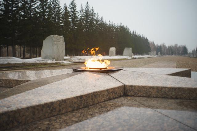 Вечный огонь в Омске