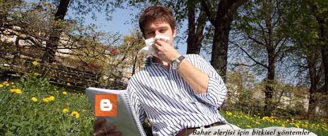 Bahar alerjisi için bitkisel yöntemler