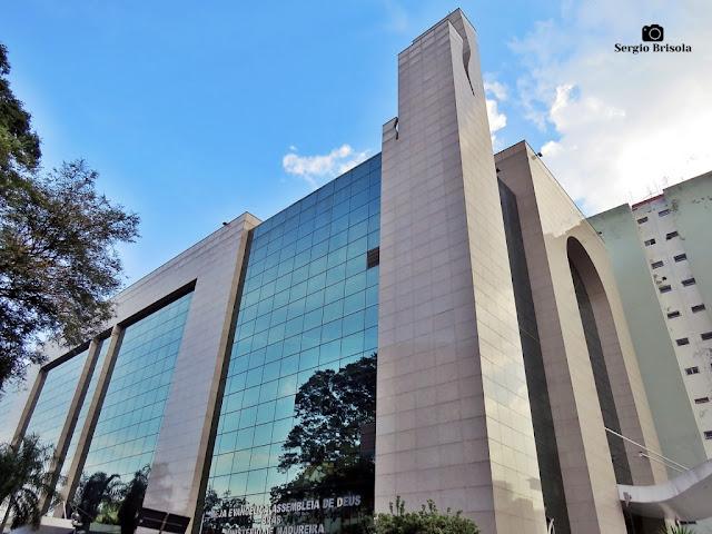 Vista ampla da Assembleia de Deus - Brás - São Paulo