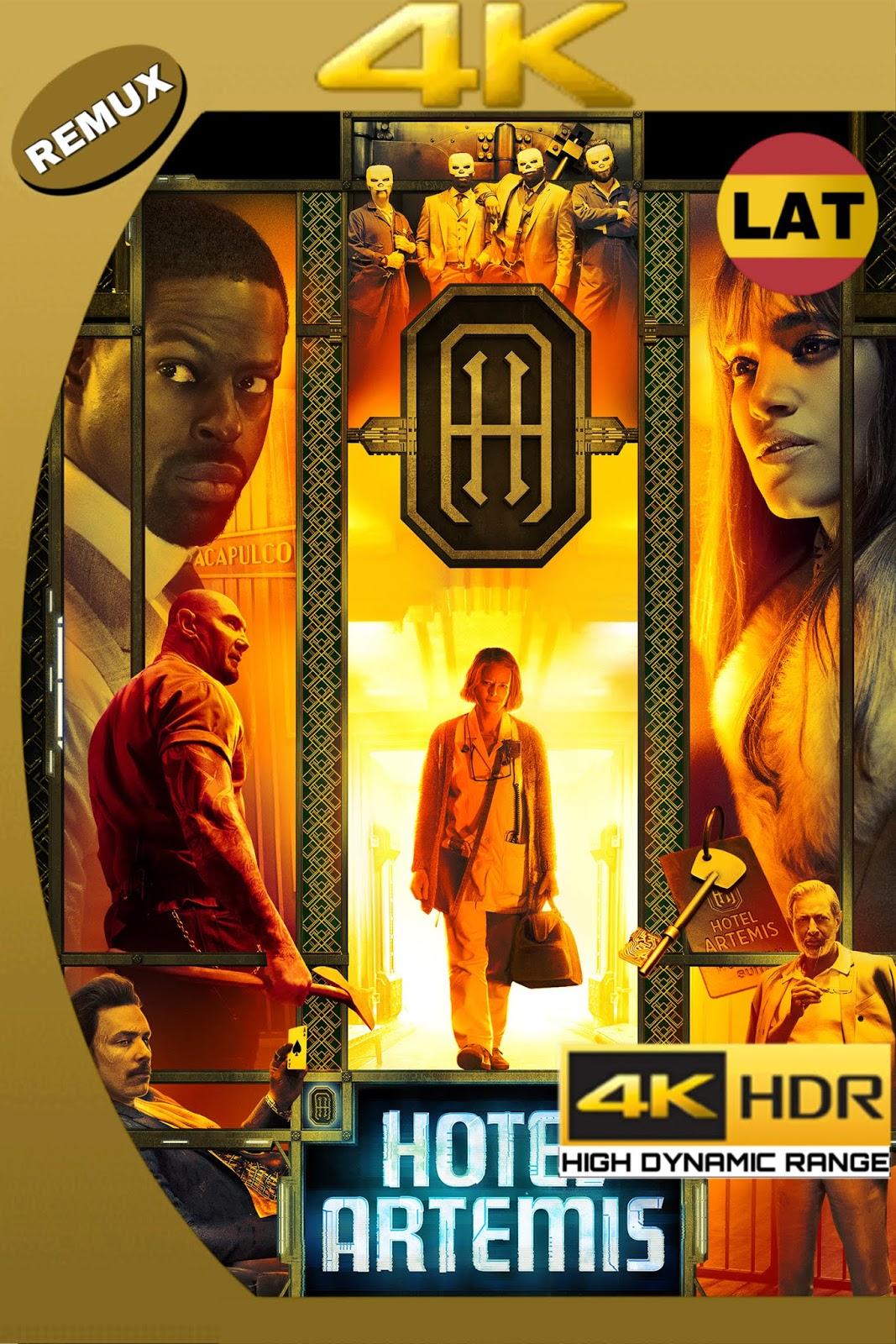 HOTEL ARTEMIS 2018 LAT-ING ULTRA HD 4K HDR BDREMUX 2160P 50GB.mkv