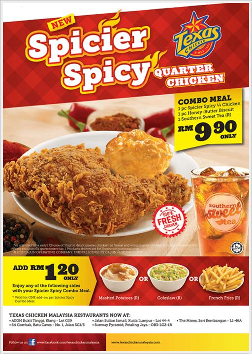 Spicier Spicy Quarter Chicken