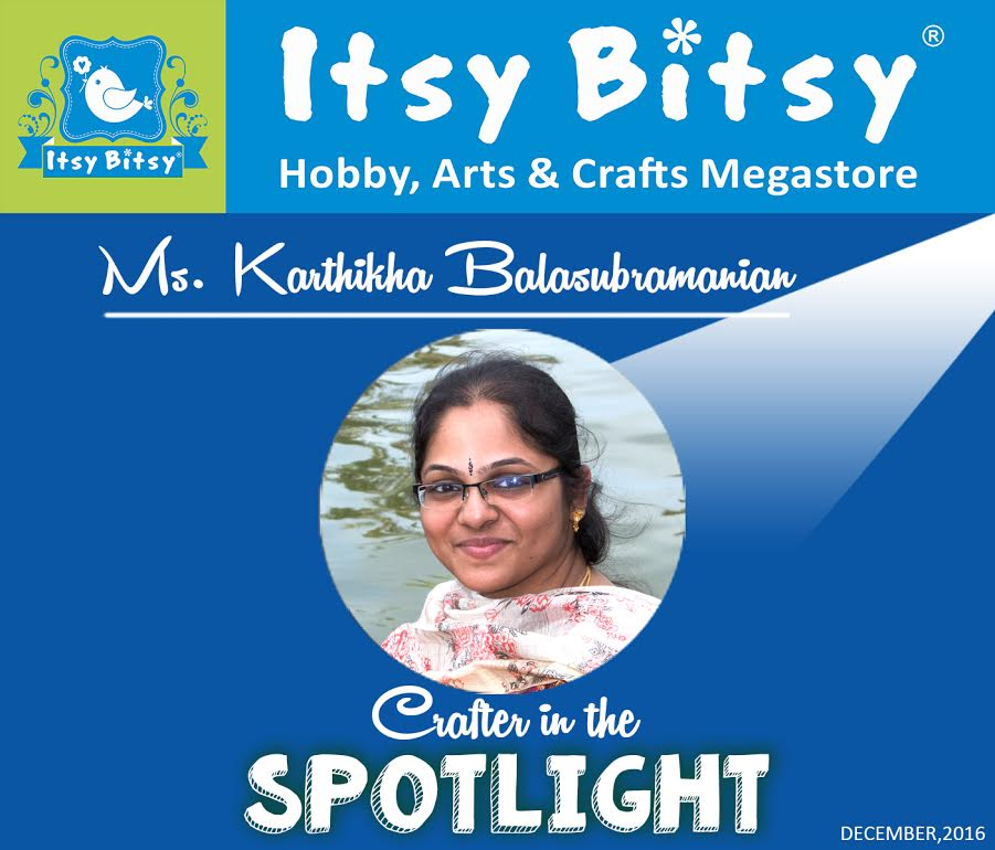Itsy Bitsy Crafter in the Spotlight