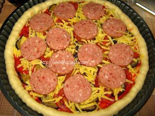 как приготовить пиццу салями