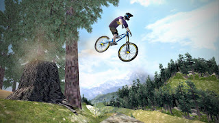 the action is fast paced and utterly relentless from start to finish Shred! Downhill Mountainbiking v1.65 Apk