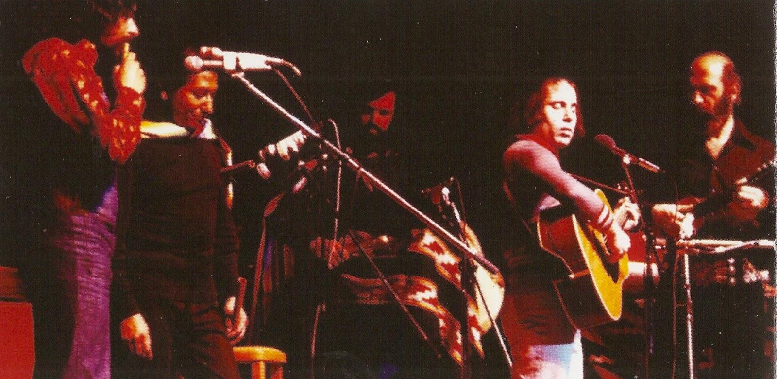 Paul Simon With Urubamba And The Jessy Dixon Singers Paul Simon In Concert Live Rhymin