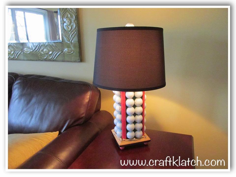 Golf Ball Resin Lamp DIY