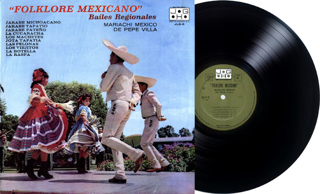 MARIACHI MÉXICO DE PEPE VILLA - FOLKLORE MEXICANO