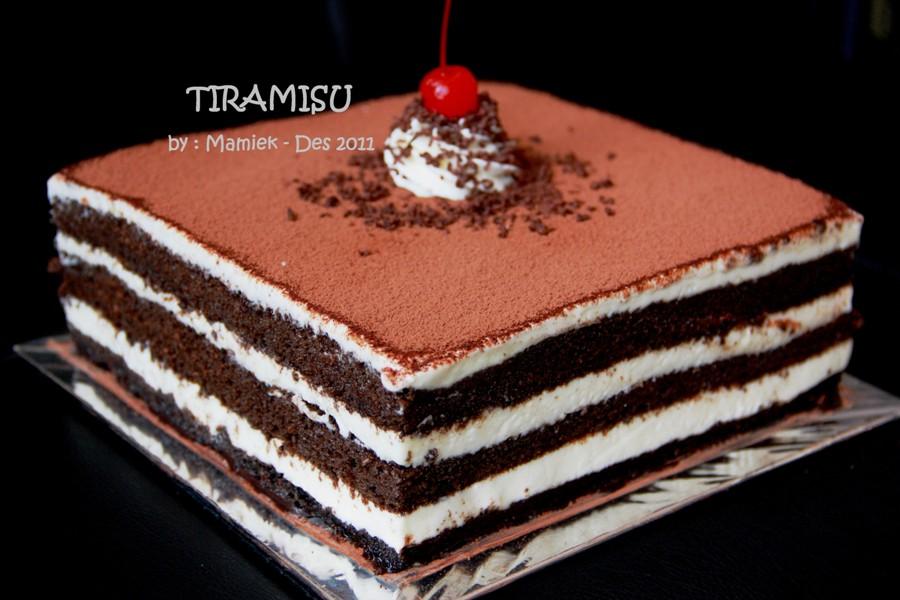 Resep Cake Tiramisu Jtt: Coba Resep: TIRAMISU