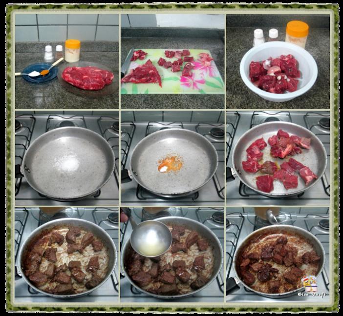 Risoto alla milanese de carne 2