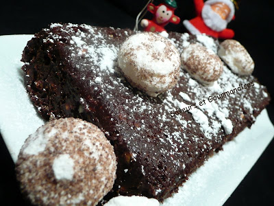 Gateau au chocolat petit lu meringue