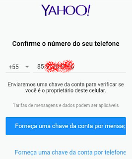 Yahoo! E-mail pelo tablet
