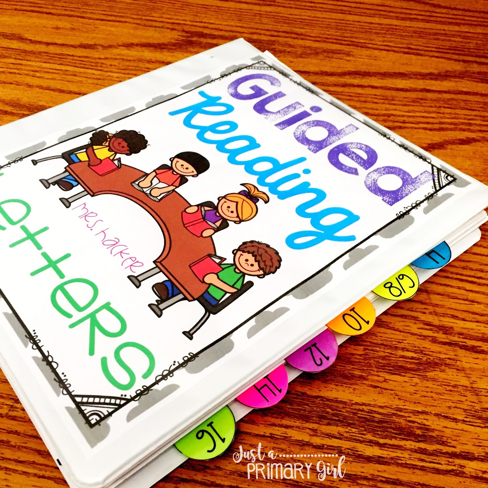 Guided reading for parents just a primary girl guided reading letters first i keep everything organized in a binder it contains all the letters that i send home to parents at back to school night geenschuldenfo Image collections