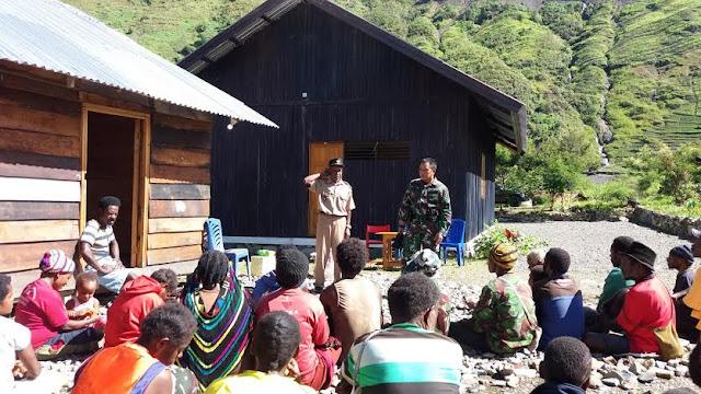 Riki Enumbi : Kehadiran Prajurit TNI Bantu Masyarakat Papua