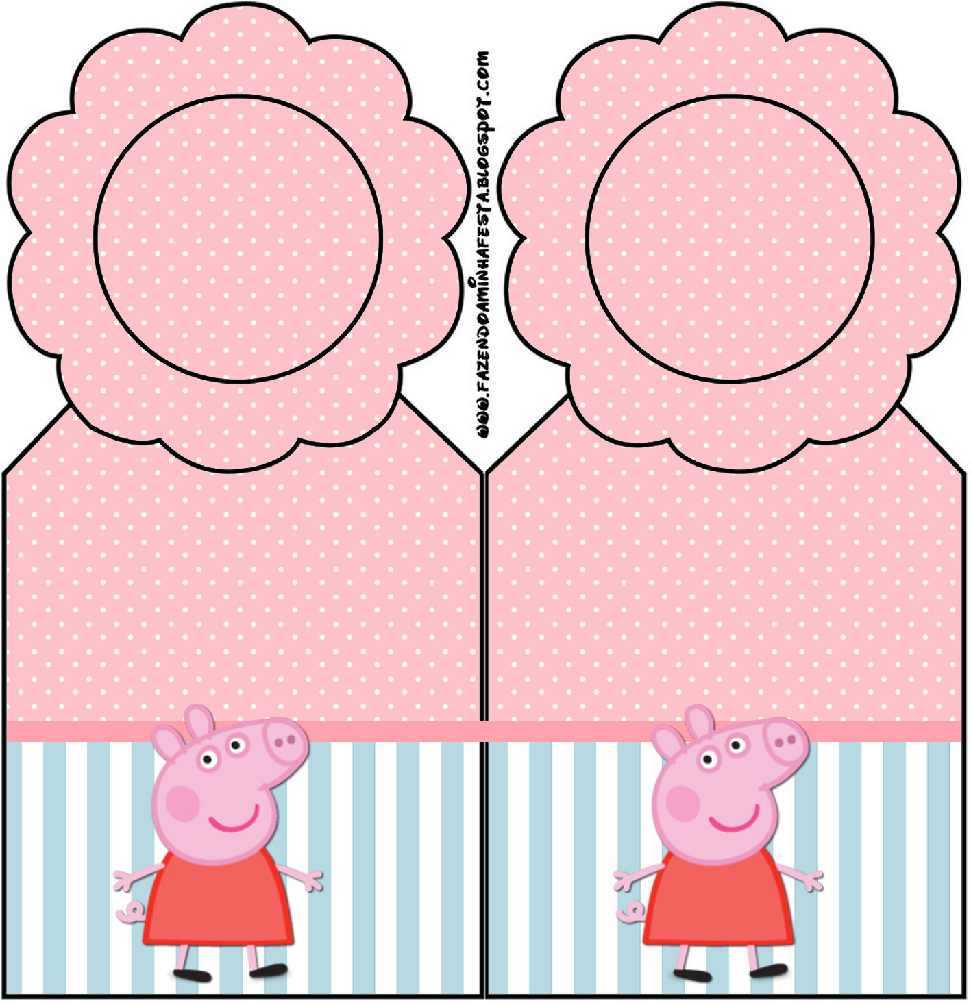 Peppa Pig: Party Free Printables. - Oh My Fiesta! in english