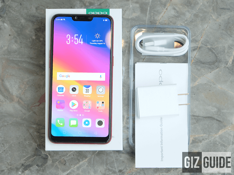 OPPO A3s Unboxing and First Impressions