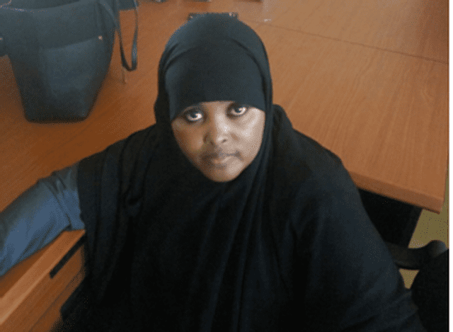 halima - Shock as DONALD TRUMP turns heat on UHURU after it emerged that a Kenyan is funding ISIS terrorists-Her name is…(Photo)