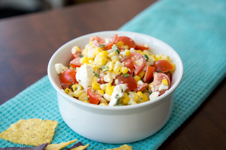 Summer Corn Dip [Cooking Video]