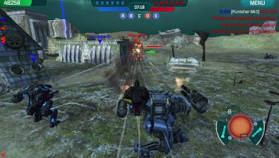 تحميل لعبة War robots apk مهكرة, لعبة War robots مهكرة جاهزة للاندرويد, لعبة War robots مهكرة بروابط مباشرة