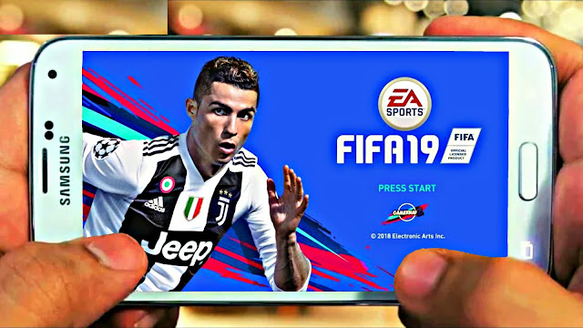 FIFA 19 Android Offline 600 MB New Kits,Squad Update
