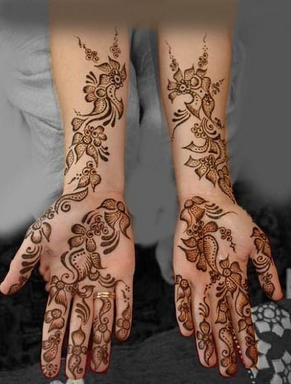 Beautiful Henna Designs: Mehndi Designs: Beautiful Arabic Mehndi Designs For Hands