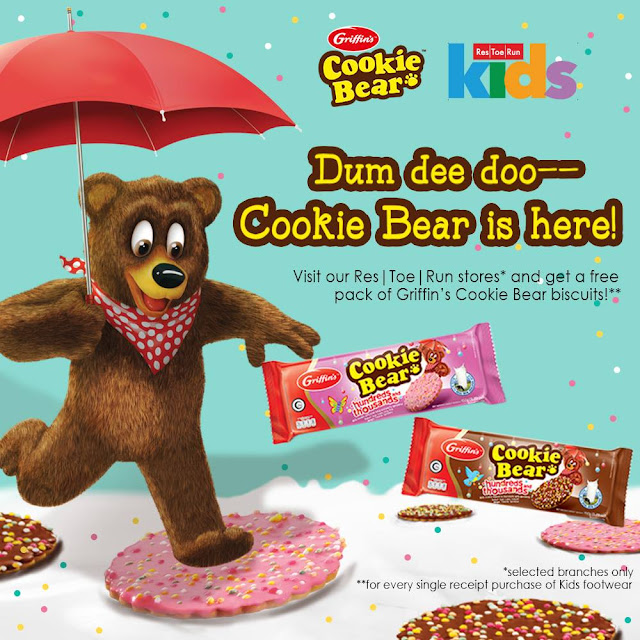 Back-to-School Treats from Griffin's Cookie Bear and Res|Toe|Run