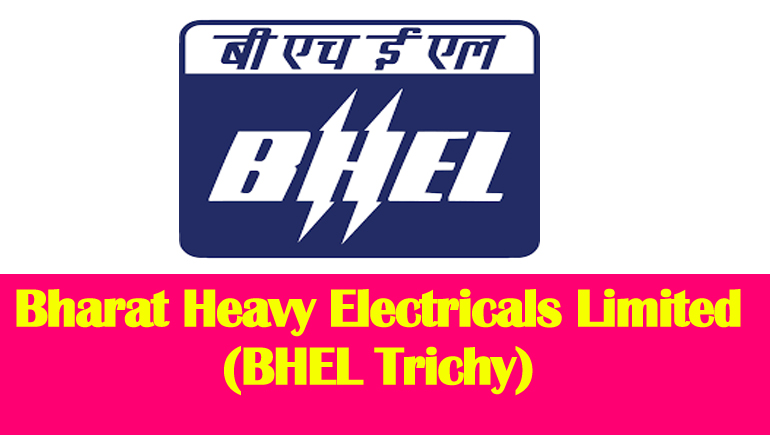 BHEL Trichy 620 Apprentice Recruitment 2017-2018