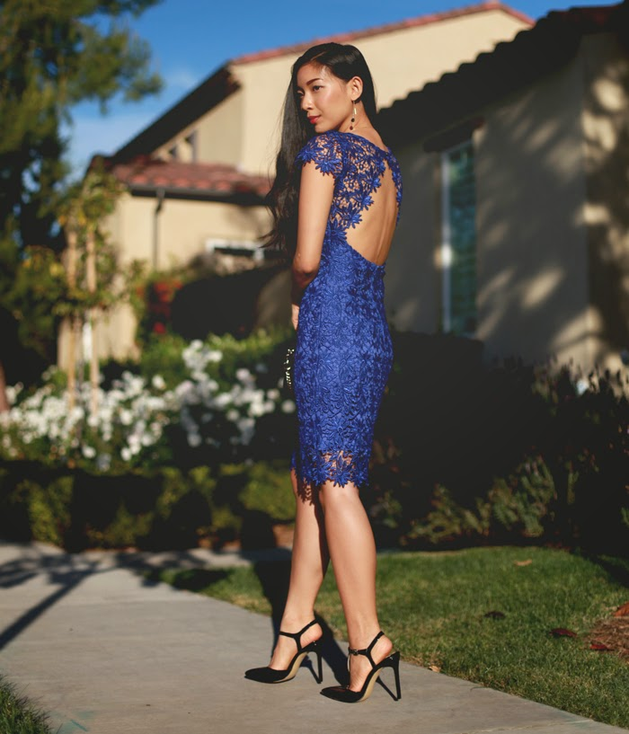 Stephanie Liu of Honey & Silk shares Holiday Soiree Style with Lulu*s! Click through to see where to wear this look.