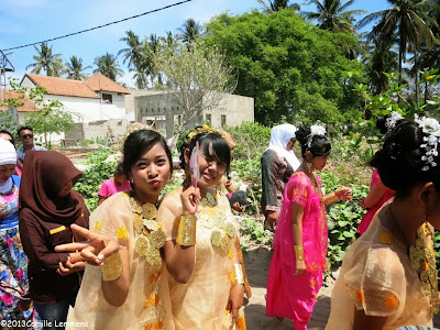 Wedding on Gili Air, Indonesia