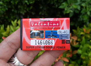 Baterai Nokia BL-4C Valentine Double Power