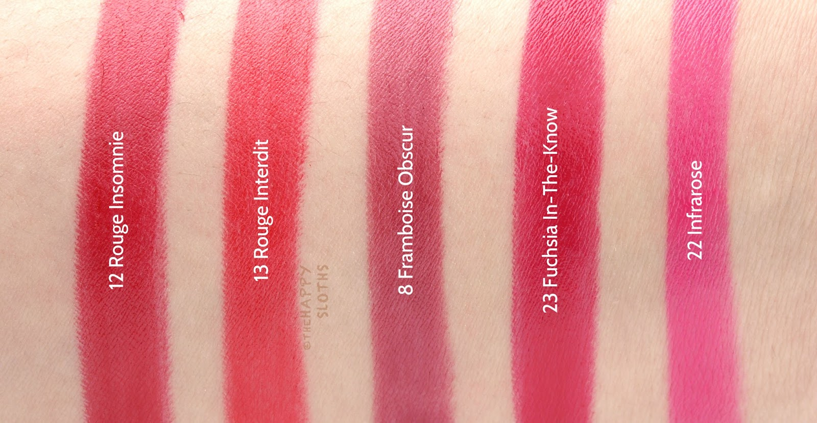 Givenchy Rouge Interdit Satin Lipsticks: Review and Swatches