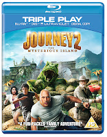 Journey 2 Blu-ray Triple Play DVD Box