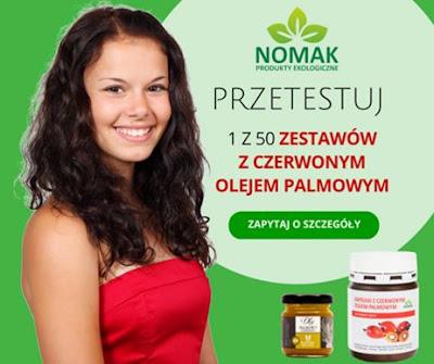 NOMAK - produkty ekologiczne.