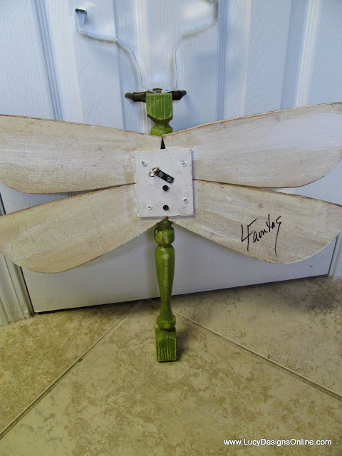lucy designs dragonfly