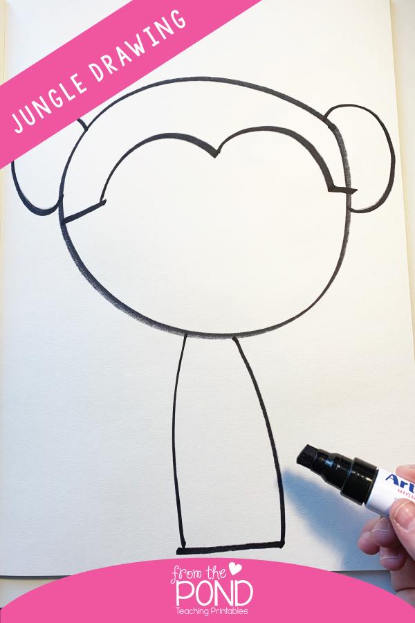 Jungle Drawing Art Project