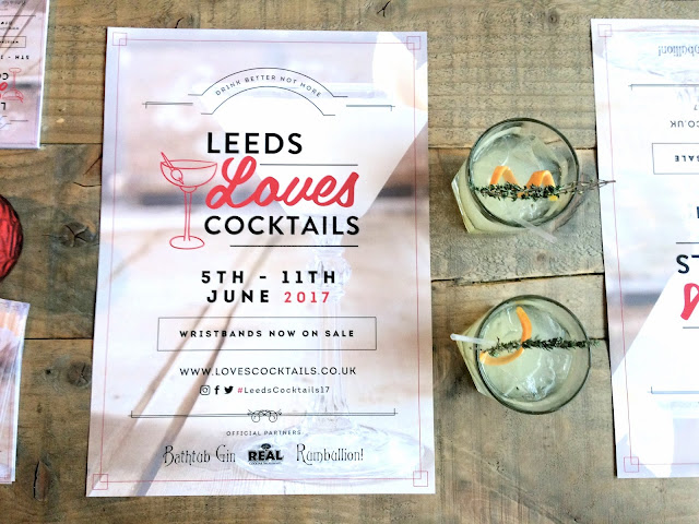 Leeds Loves Cocktails - cocktail festival | The Dress Diaries