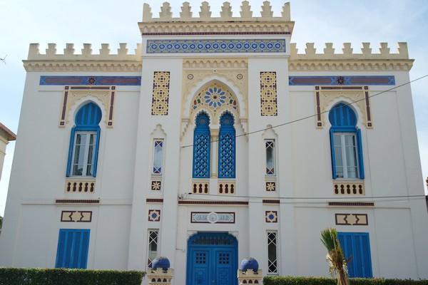hyères var belle époque villa tunisienne chapoulart